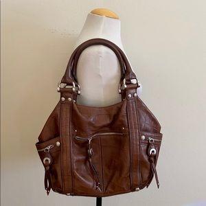 B Makowsky brown Leather bag